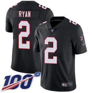 Falcons Matt Ryan 100th Season Jersey 2